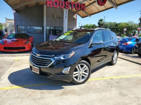 Pre-Owned 2018 Chevrolet Equinox Premier Sport Utility 4D FWD SUV