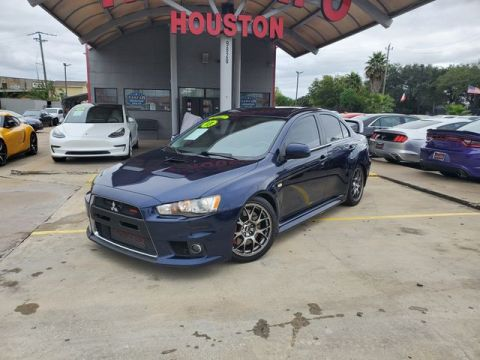 2013 Mitsubishi Lancer Evolution MR Sedan 4D