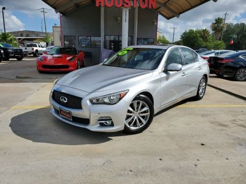 Pre-Owned 2016 INFINITI Q50 Sport Sedan 4D AWD Sedan