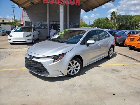 Pre-Owned 2020 Toyota Corolla LE Sedan 4D FWD Sedan